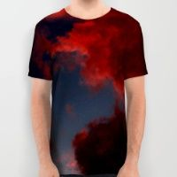 Colour Storm - Red All Over Print Shirt
