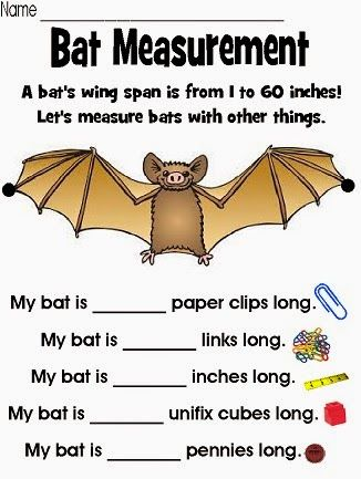 "Mrs. Ehle's Kindergarten Connections: Going ""BATTY!""  Check out this blog post for multiple BAT FREEBIES and countless BATTY ideas to  use in your primary classroom!"