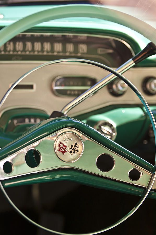 1958 Chevrolet Impala Steering Wheel