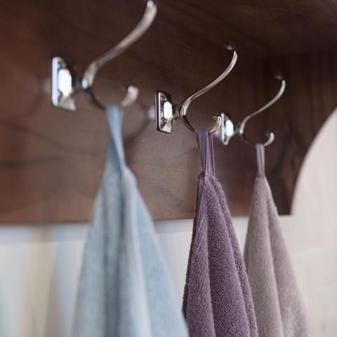 Hooks | The Classic Lilac Purple Towels Duvet Cover | Crane and Canopy
