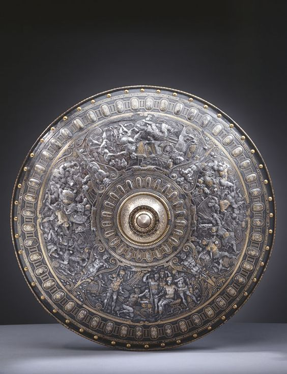 Parade shield ('The Cellini Shield') | Royal Collection Trust Art Curator & Art Adviser. I am targeting the most exceptional art! Catalog @ http://www.BusaccaGallery.com:
