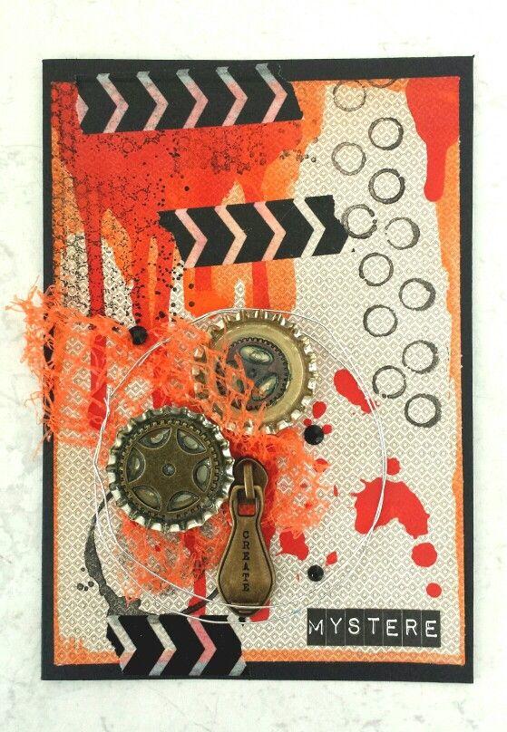 Paper Wings Productions Guest Designer : October Challenge (Halloween/orange)