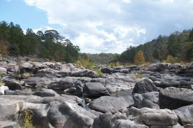 St francis river 39 s tiemann shut ins arcadia mo the - Millstream gardens conservation area ...