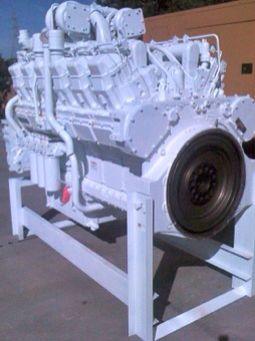 Rebuilt CAT 3512 Engine for Ingersoll Rand Drill Rig