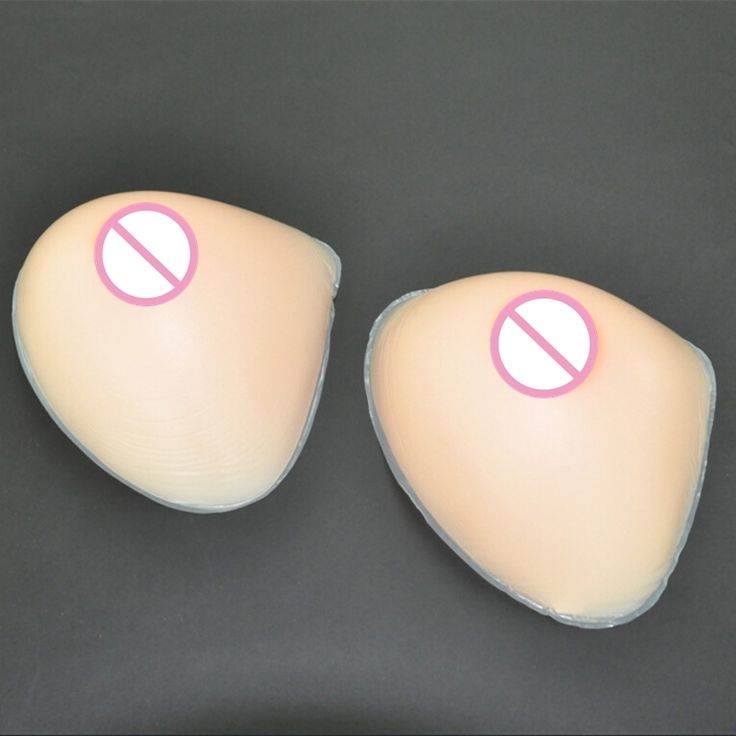 (62.40$)  Watch now  - 1600g/pair 4XL Size False Breast Artificial Breasts Silicone Breast Forms Fake Boobs Shemale Transsexual Realistic Fake Breasts