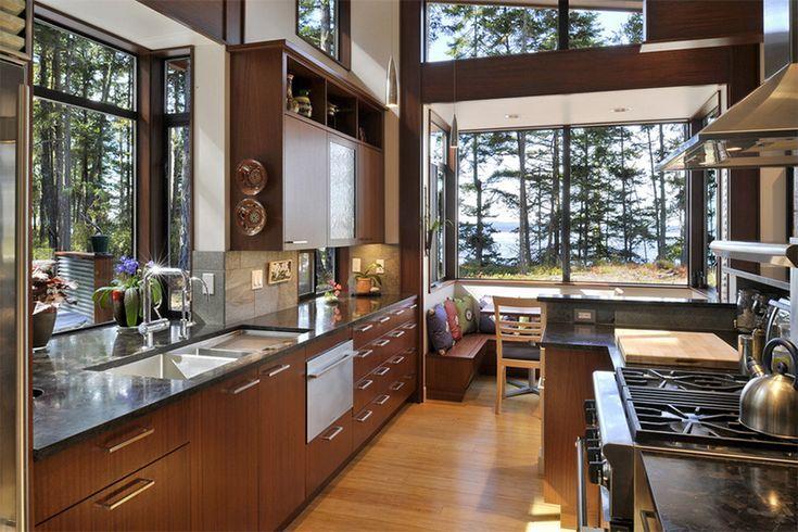 25 Inspiration für das Küchendesign: Was ist die Sicht von Ihrem Ki …