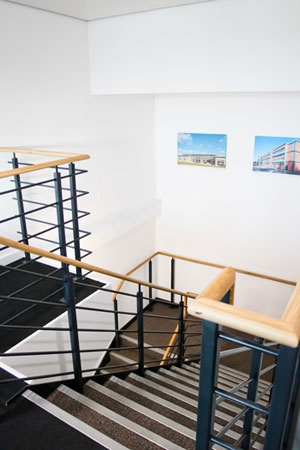 Dulux Trade - Case study - Dulux Trade Paint used to brighten £1.5m Passivhaus office  http://dulux.trade-decorating.co.uk/case_studies/dt_paints_used_to_brighten_passivhaus_office.jsp#