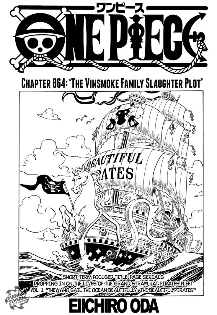 One Piece 864 Page 1