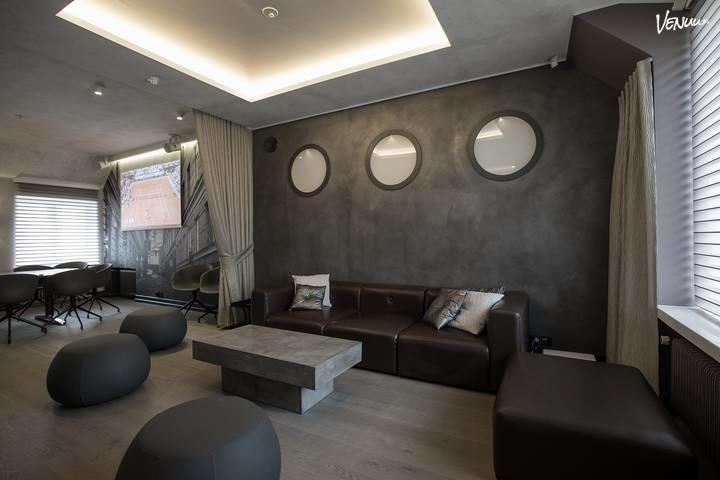 Roba Lounge: Uusi kokous-, edustus-, juhla- ja saunatila vaativimpaan makuun Helsingin ytimessä. https://venuu.fi/tilat/roba-lounge #RobaLounge #kokous #sauna