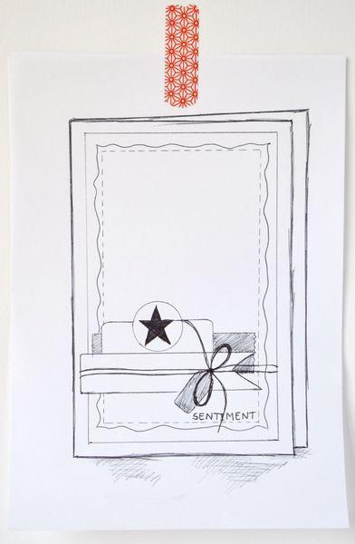 sketch Mary cardathon