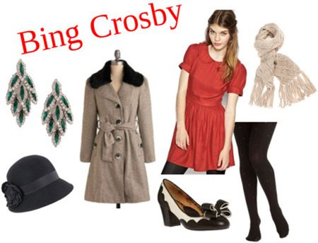 Outfit inspired by Bing Crosby's Christmas album