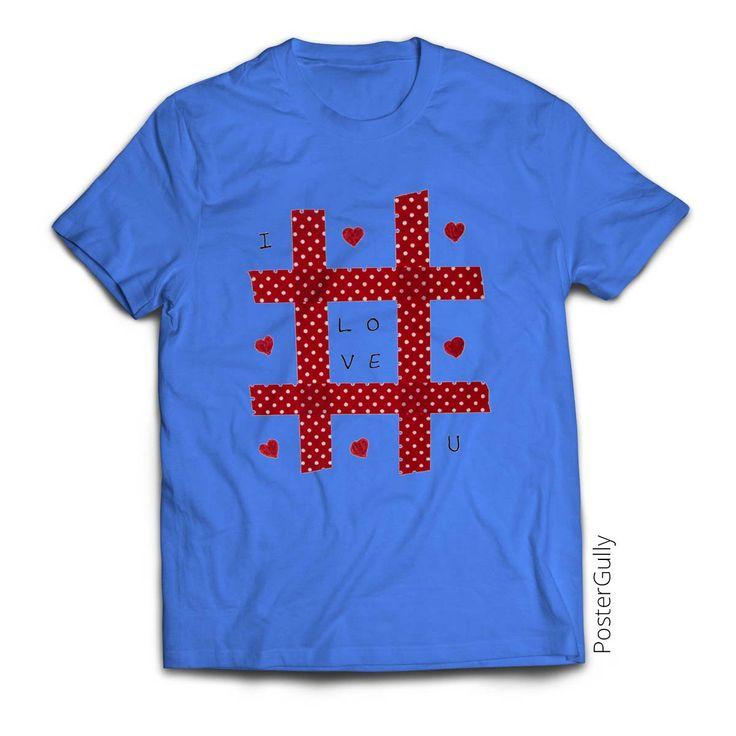 Love Tic Tic Toe T-Shirt #tictactoe #tshirt #roundnecktees #hearts #love #giftitem #designertshirts