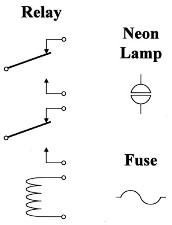 Symbols of electronic circuits de-coded.