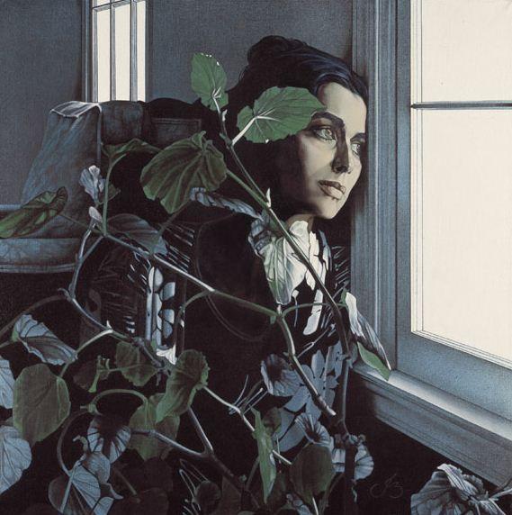 Художница JB Berkow. Портретная живопись. Из серий «Оттенки любви» и «Любовные письма»