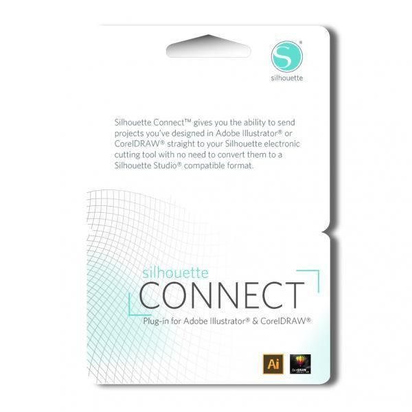 Silhouette Connect download card - Plugin for Adobe Illustrator and CorelDRAW SILHOUETTE-CONNECT