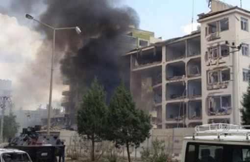 Explosion in Front of Midyat Security Directorate