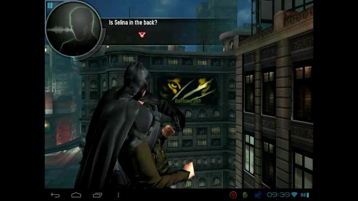 The Dark Knights rises on hp touchpad android cm9 (+playlist)