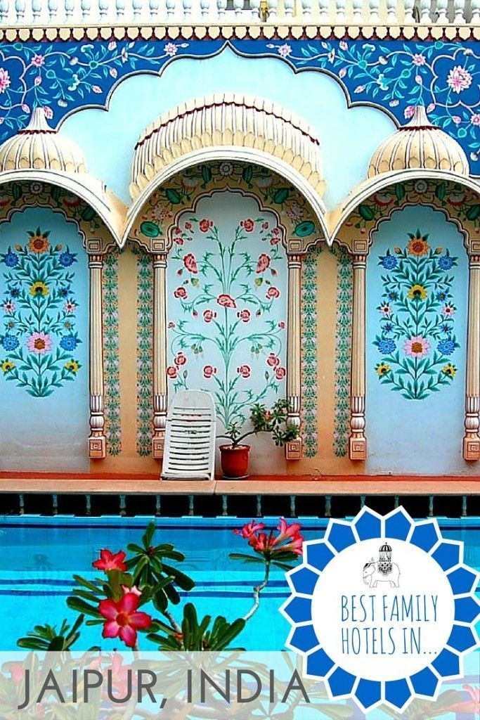 The Best Family Hotels in Jaipur, Rajasthan, India. India's Pink City is a fairytale come to life; whimsical palaces, a fanciful observatory and rows upon rows of buildings in a dusty pink hue. It's a busy city – like most in India! – but a fun one for families to explore. But where are the best places to stay if travelling with kids? We round up the best family-friendly hotels in Jaipur to help make your visit to the Pink City  truly memorable.