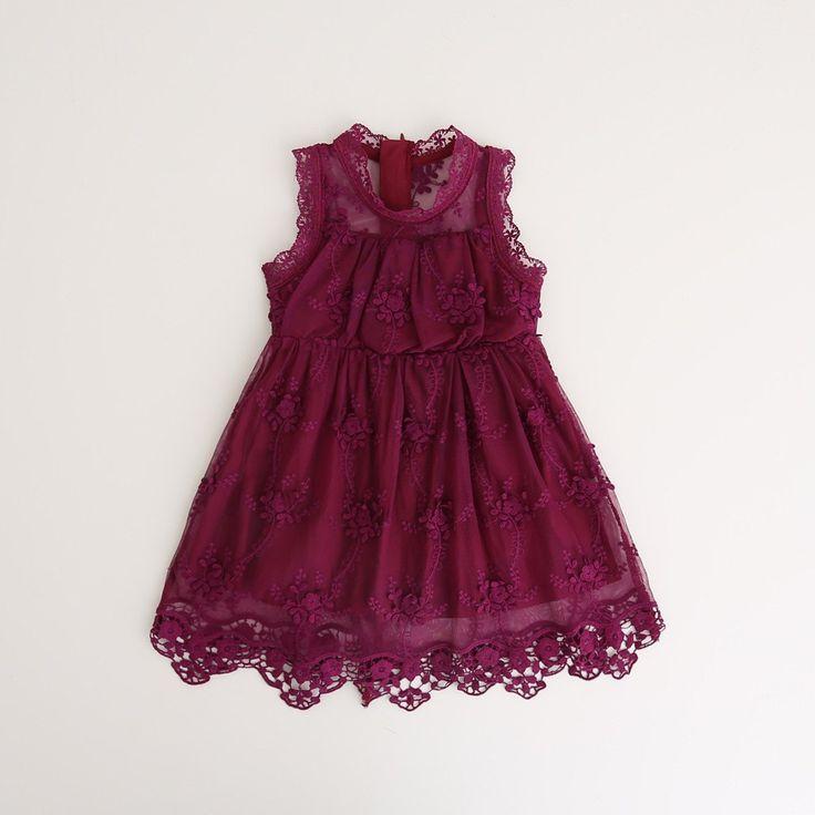 Kendall  ~ Plum Lace Dress