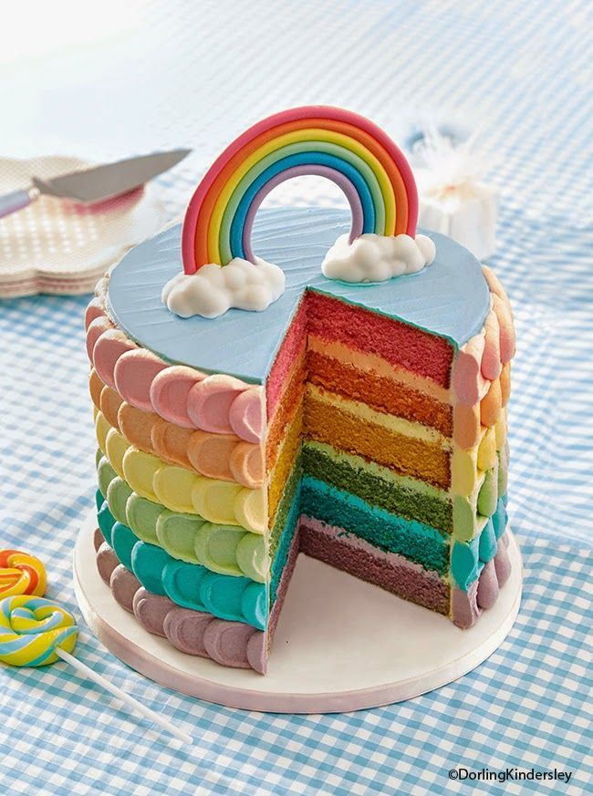 You see that fabulous rainbow cake above? Full disclaimer – it's not one of …  – Motto-Partys