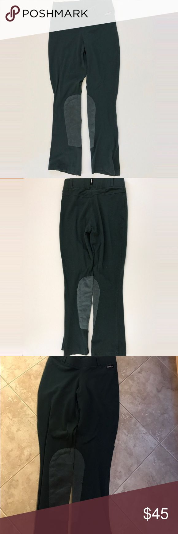 Kerrits boot cut knee patch riding breeches Green boot cut knee patch riding breeches. In perfect condition. Lightly loved Kerrits Pants