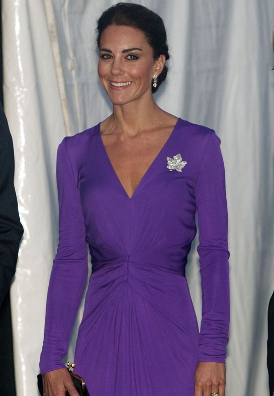 She actually has her hair up, looks lovely!: Duchess Of Cambridge, Purple Dresses, Style, Royals, Canada Day, Katemiddleton, Kate Middleton, Bride Dresses, Princesses Kate