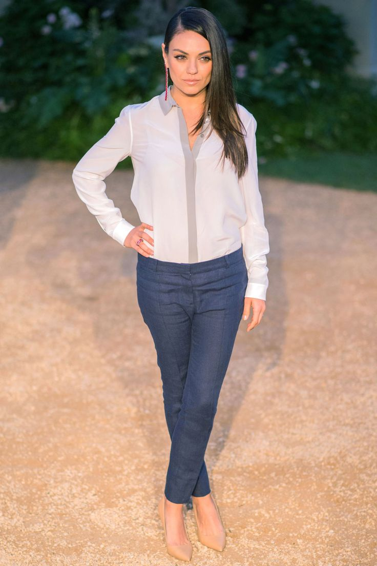 Mila Kunis At The Burberry London In Los Angeles Event, 2015