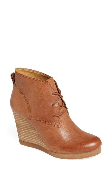 Lucky Brand 'Taheeti' Wedge Bootie (Women) available at #Nordstrom