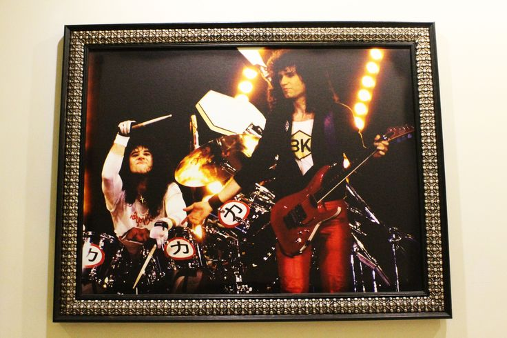Bruce Kulick y Eric Carr, #Kiss Crazy Nights 1987