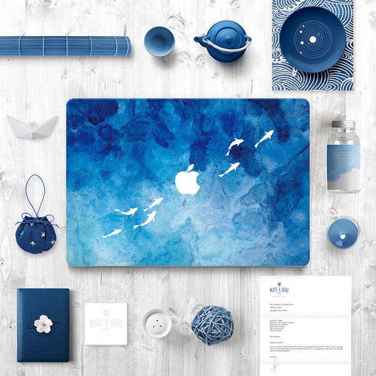 Macbook Decal Sticker - Fishes