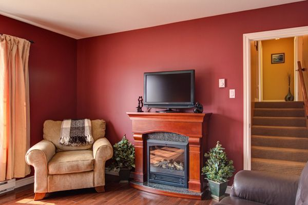 Red and beige room images 30 excellent living room paint for Red and beige living room ideas