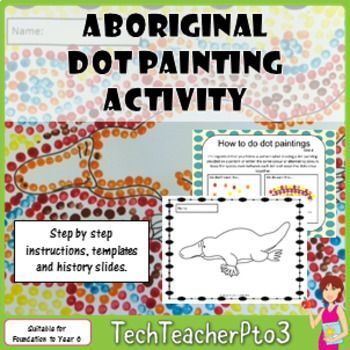 A fun activity for young students this pack includes instructions, black and white printable templates and a brief historic background on Aboriginal art. Perfect for NAIDOC Week activities!