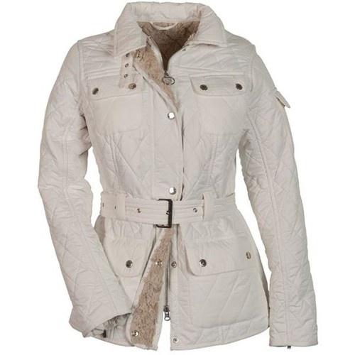 Barbour Ladies White Winter International Polarquilt Jacket $ 345