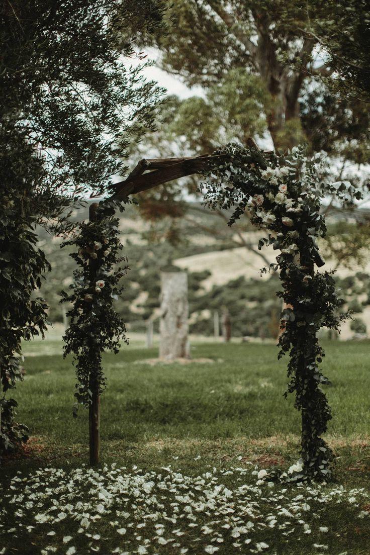 A gorgeous garden ceremony