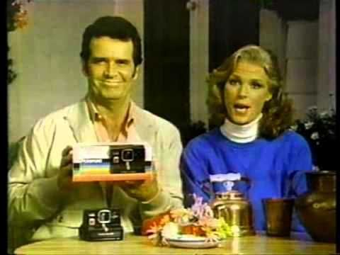 James Garner the famous Polaroid commercials- 7 years of them.