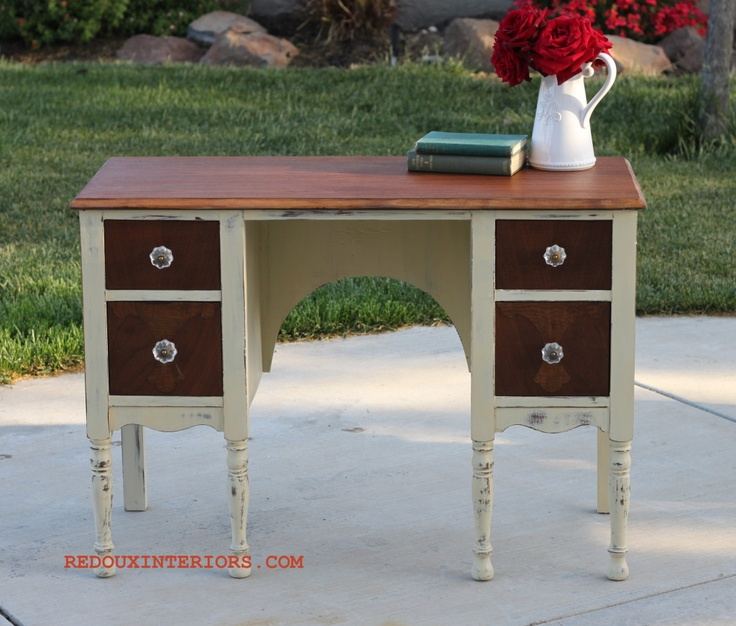 two tone furniture painting. two tone desk furniture painting k