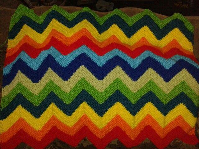 Chevron stripes blanket ♡