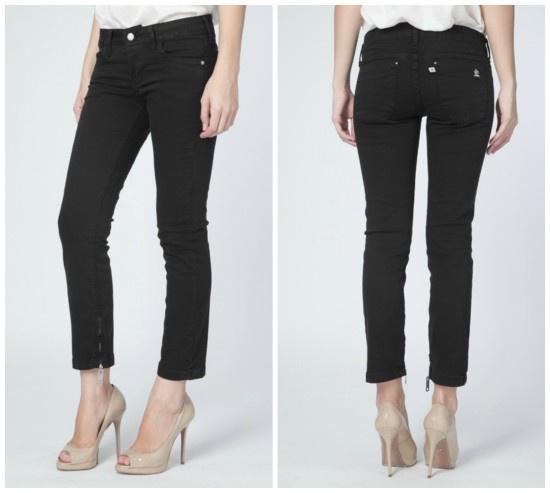 roupas de marca em off calca jeans capri forum estela preta