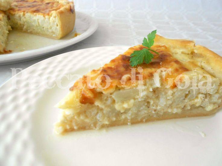 6) la torta salata al cavolfiore pronta