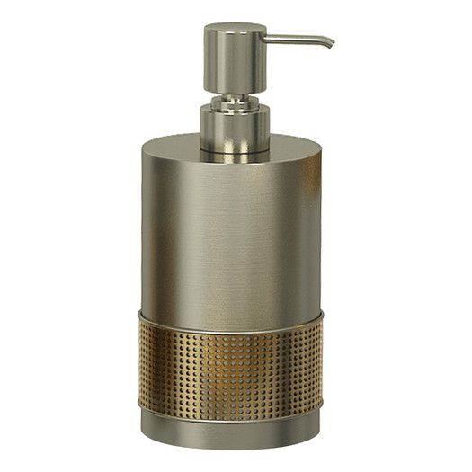 NU Steel Selma Soap and Lotion Pump