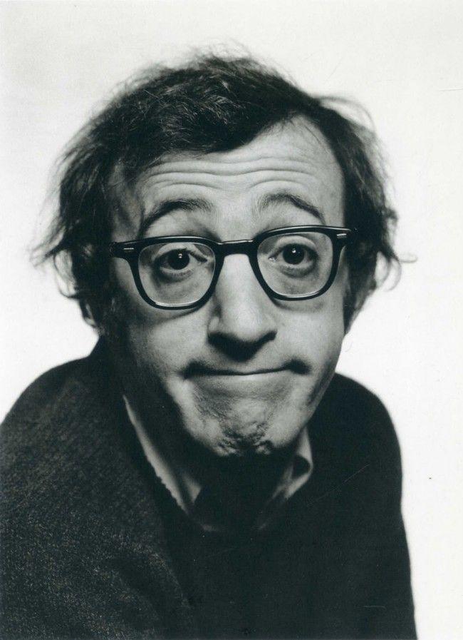Woody Allen by Philippe Halsman