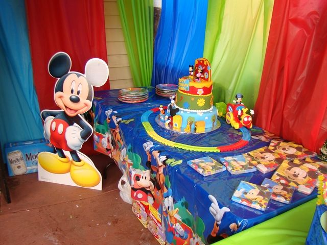 Mickey Mouse Clubhouse Birthday Party Ideas | Photo 4 of 22 & 82 best Mickey Mouse clubhouse birthday party images on Pinterest ...