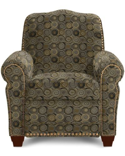LazyBoy reclining chair.  Fabric name Ebony.  Will go perfect with my new couches!