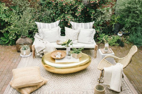 How To Bring The Indoors Out - How To Turn Your Patio Into A Second Living Room - Photos
