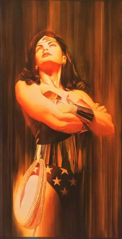 JLA Portrait - Wonder Woman by Alex Ross *