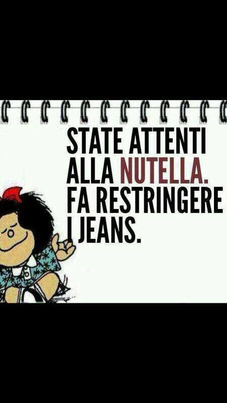 State attenti alla Nutella. Fa restringere i jeans.