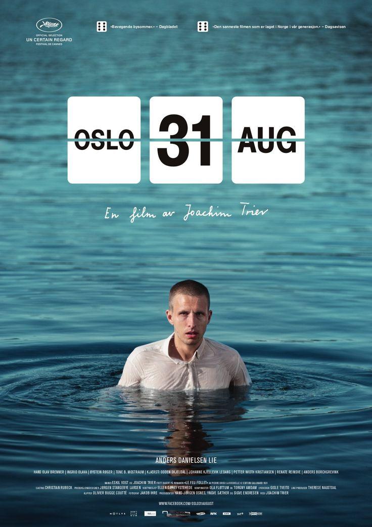 Oslo, August 31st  directed by Joachim Trier with Anders Danielsen Lie, Hans Olav Brenner