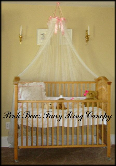Wonderful PHOTO PROP Dress Up Princess Fairy Tent Bed Canopy Crown Ring BOWS