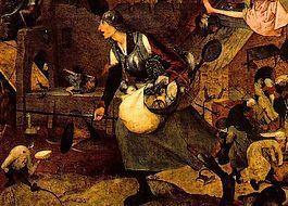 Bruegels 'Dulle Griet' (detail)'