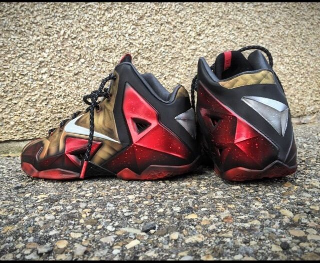 Release Reminder: Nike Air Foamposite Pro PRM 'Spider-Man ...  |Iron Man Nike Foams